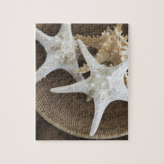 Starfish in a basket jigsaw puzzle