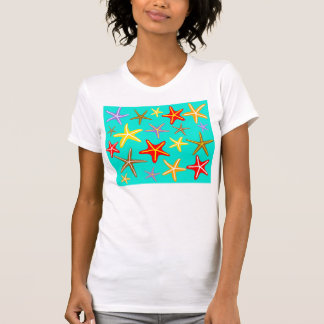 """Starfish in the Sea"" design. T-Shirt"