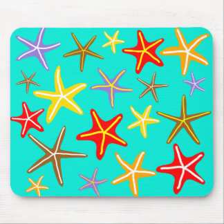 Starfish in the Sea Mouse Mat