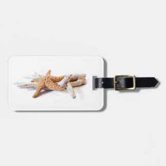 starfish luggage tag