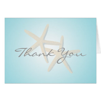 Starfish Ocean Dreams Thank You Card