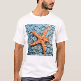 Starfish On A Coral With Polips T-Shirt