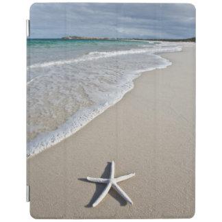 Starfish On A Remote Beach iPad Cover