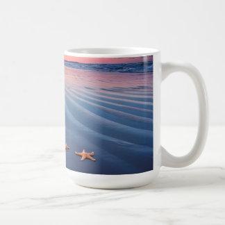 Starfish On Sand Coffee Mug