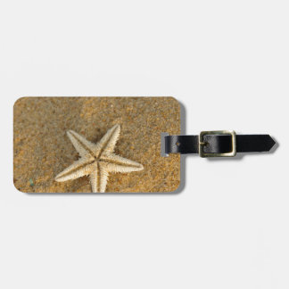 Starfish On Sand Luggage Tag