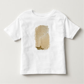Starfish on sandy beach, Gibbs Cay Land and Toddler T-Shirt