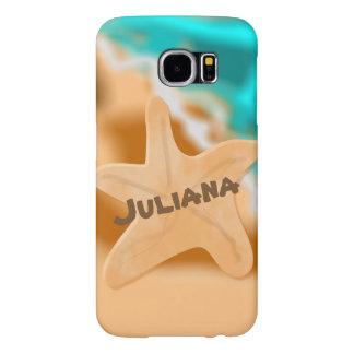 Starfish On the Beach Samsung Galaxy S6 Cases