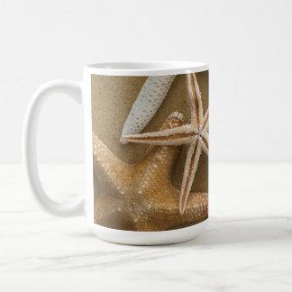 Starfish On The Sand Coffee Mug