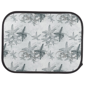 Starfish On The Sea Pattern Car Mat