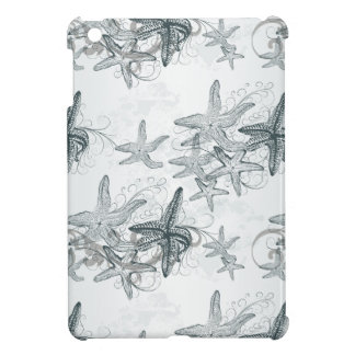 Starfish On The Sea Pattern iPad Mini Cover