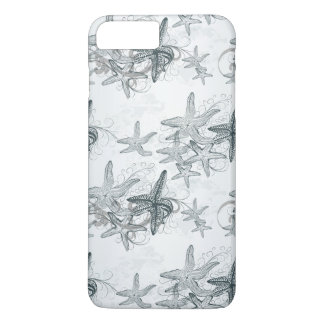 Starfish On The Sea Pattern iPhone 8 Plus/7 Plus Case