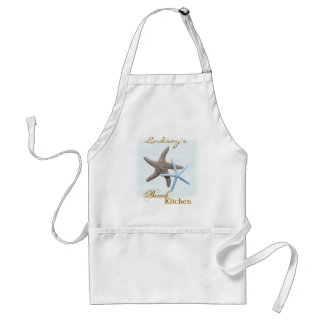 Starfish Personalized Beach Kitchen Apron