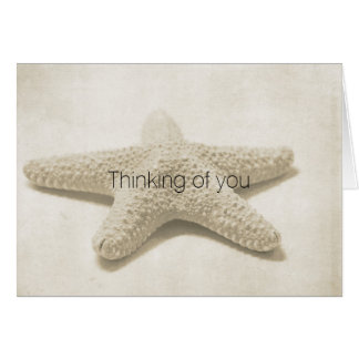 Starfish Personalized Card