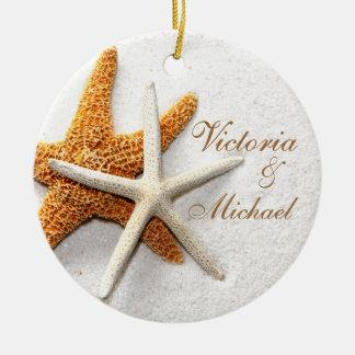 Starfish Personalized Ornament