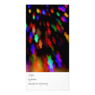 Starfish Photo Card
