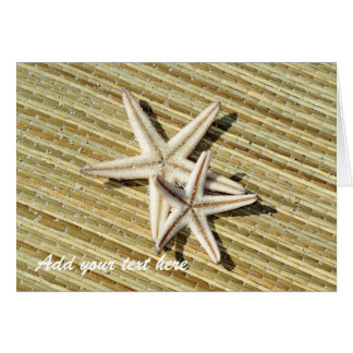 Starfish Photo Greeting Card