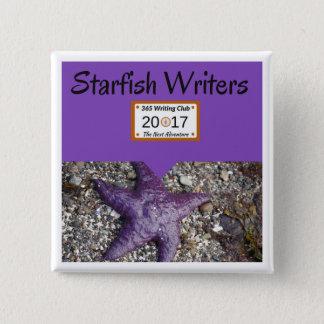 Starfish Pin! 15 Cm Square Badge