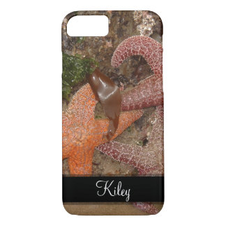 Starfish/Sea Stars in Cannon Beach, OR, 4 Name iPhone 8/7 Case