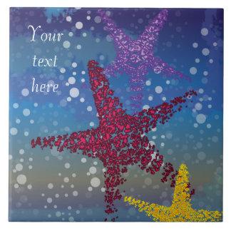Starfish Seastar Tile