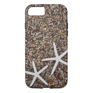 Starfish skeletons on Glass Beach iPhone 8/7 Case