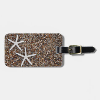 Starfish skeletons on Glass Beach Luggage Tag
