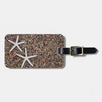 Starfish skeletons on Glass Beach Luggage Tag