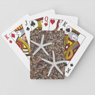 Starfish skeletons on Glass Beach Poker Deck