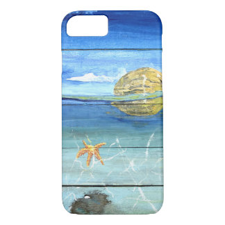 Starfish Sky iPhone 8/7, Barely There Phone Case
