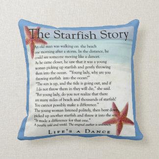 starfish story pillow throw cushions