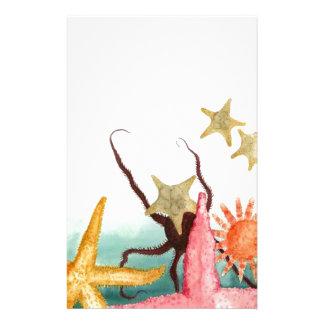 Starfish Story Stationery Resuce Adoption Sealife