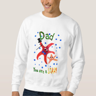 Starfish Sweatshirt for Dad on Father's Day