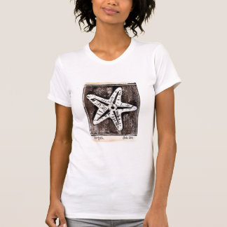Starfish T-Shirt in white