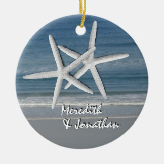 Starfish Together At Christmas Ornament, 2 Christmas Ornament