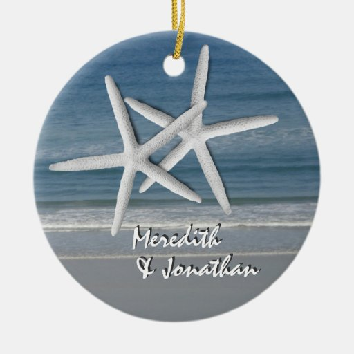 Starfish Together At Christmas Ornament, 2