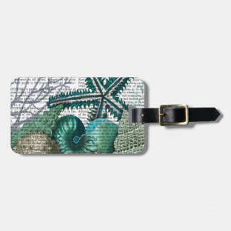 Starfish Under the Sea Luggage Tag