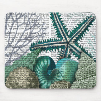 Starfish Under the Sea Mouse Mat