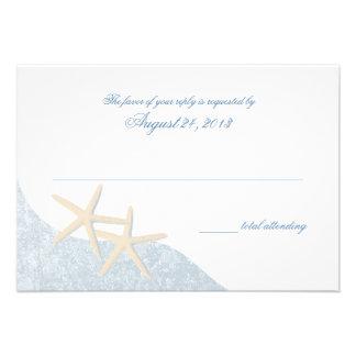 Starfish Wedding Response Card