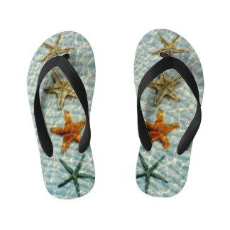 Starfishes Kid's Flip Flops