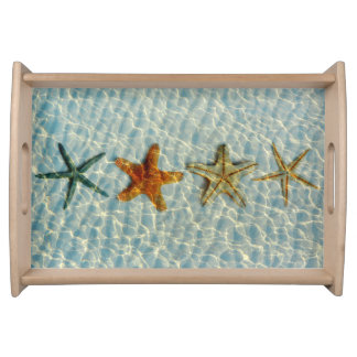 Starfishes Serving Tray
