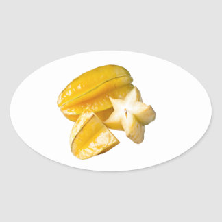 Starfruit Oval Sticker