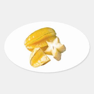 Starfruit Oval Sticker