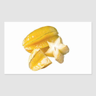 Starfruit Rectangular Sticker