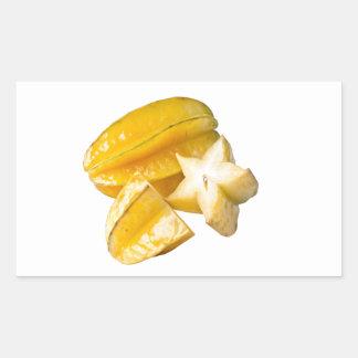 Starfruit Rectangular Sticker