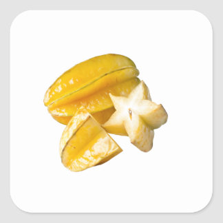 Starfruit Square Sticker