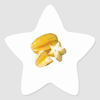 Starfruit Star Sticker