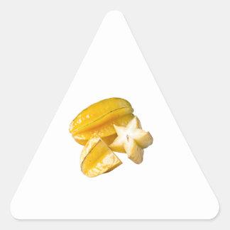 Starfruit Triangle Sticker
