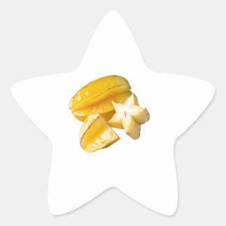 Starfruit Star Sticker