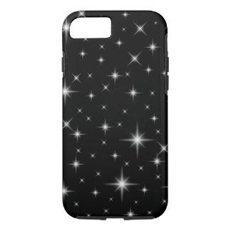 Stargazer Bright Stars Night Sky Dark Black iPhone 7 Case