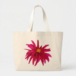 Stargazer Dahlia Jumbo Tote Bag
