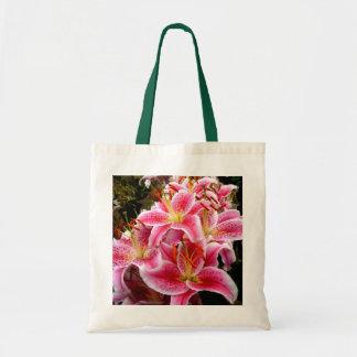 """""""Stargazer"""" Lilies Tote Bag"""